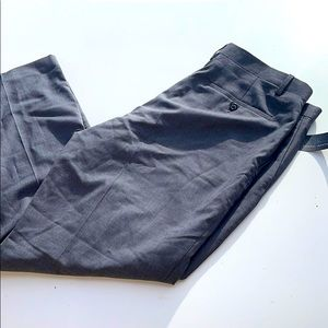 Marc Anthony Grey Slim Fit Pants 34 x30